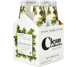 Clean Collective Gin n Tonic 4pk Bottles 300ml